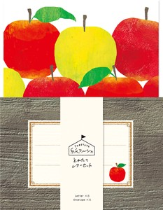 Marche Writing Papers & Envelope Apple