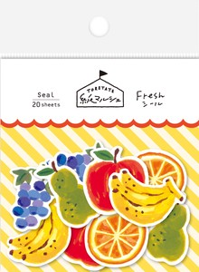 Marche Japanese Paper Sticker Fruit