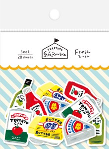 Marche Japanese Paper Sticker Condiment