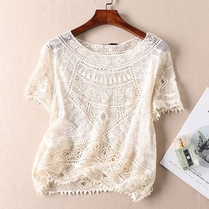 Leisurely Lace Short Sleeve