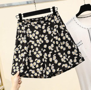 Ladies Chiffon Floret Shor Pants