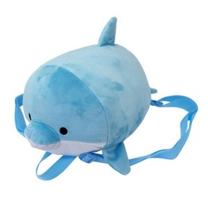 Dolphin Soft Toy Backpack