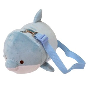 Dolphin Soft Toy Pouch