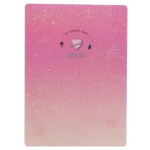 Stationery plastic sheet Cosme Desk Pad Fancy Style