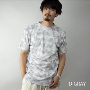 【2020新作】 Tシャツ メンズ 半袖 クルーネック 吸汗 速乾 ドライ プリント 総柄 スポーツ フィットネス