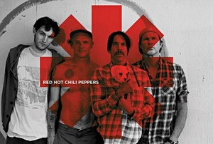 ■ポスター■610X915mm★Red Hot Chili Peppers (Red Asterix)