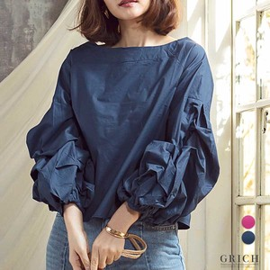 S/S Top Funwari Blouse Long Sleeve Blouse Shirt