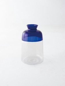 Glass Base Two Tone Blue