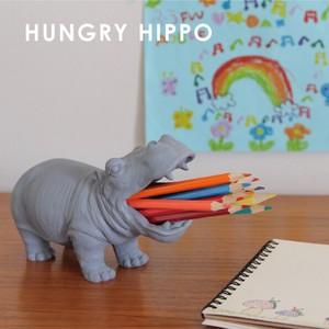 ペン立てや歯ブラシホルダーに!★【HUNGRY HIPPO】ハングリーヒポ