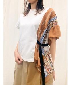 パネルプリント ドッキング 半袖カットソー(別注プリント)