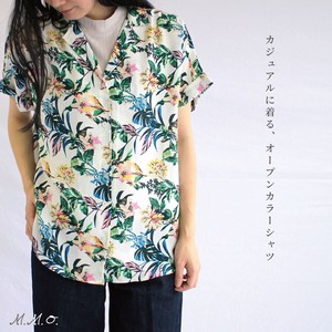 """2020 New Item"" Floral Pattern Print Shirt Blouse"