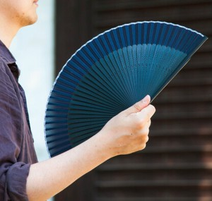for Men Folding Fan Silk