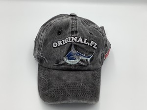 Original Denim Wash Cap Gray
