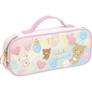 Rilakkuma Pen Pouch Pencil Case Happy for School