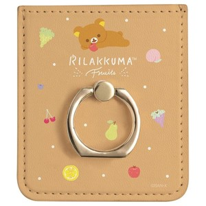 Rilakkuma Smartphone Pocket Ring Fruit Relax