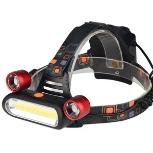 Lighting Multiple Functions Head Light LED Charging Type Head Lamp Outdoor Good Camp