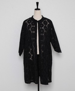 Lace Three-Quarter Length Jacket