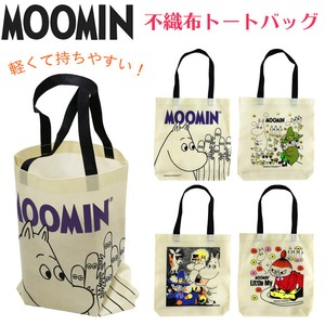 The Moomins Tote Bag 4 Types Non-woven Cloth Bag Light-Weight