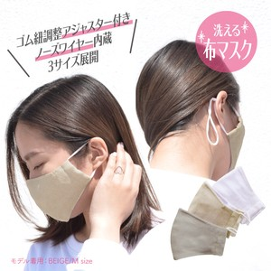 Mask Coolness Thin Countermeasure Nose Wire Adjuster Attached Mask