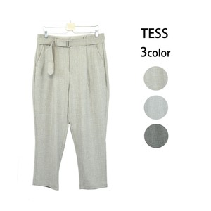 S/S Belt Attached Pants