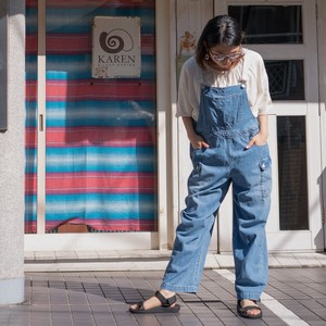 Reservations Orders Items S/S Denim Overall