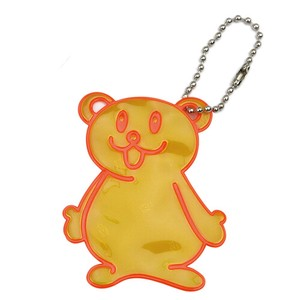 Reflection Key Ring Bear Yellow