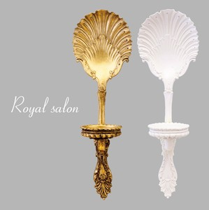 """2020 New Item"" Royal Salon Wall Candle Holder Shell Spoon"