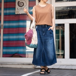 Reservations Orders Items S/S Denim Pocket Geometry Pocket Skirt