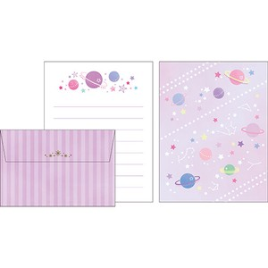 Mini letter Set Cosmic Letter Set made Japan