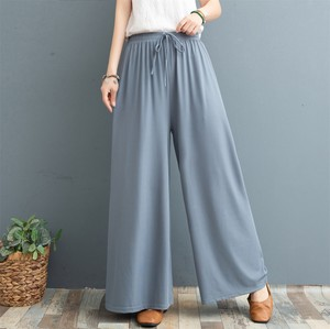 Ladies Plain 9/10Length Pants 4 Colors