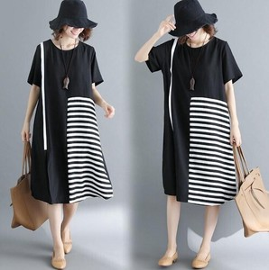 Short Sleeve Slim Effect One-piece Dress