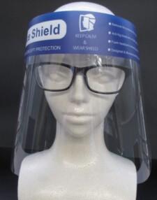(透明マスク)フェイスシールドマスク