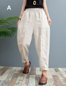 S/S Ladies Embroidery Pants 3 Colors