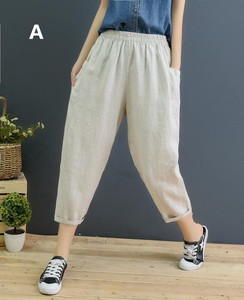 S/S Ladies 9/10Length Pants 3 Colors