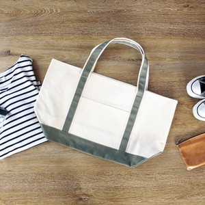 [ 2020NewItem ] TIMELESS Tote Color Handle Canvas Canvas Casual