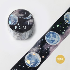 [BGM] Washi Tape  / Masking Tape Foil Stamping Space