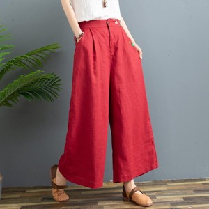 Ladies Embroidery 9/10Length Pants 3 Colors
