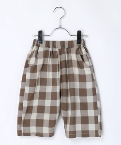 Gingham Check Half Pants