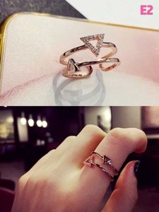 Adult Free Size Ring Ring Gold Jewelry