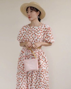[ 2020NewItem ] Floral Pattern One-piece Dress