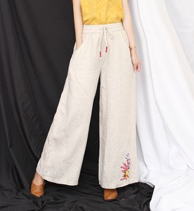 Ladies Embroidery Pants Pants 4 Colors