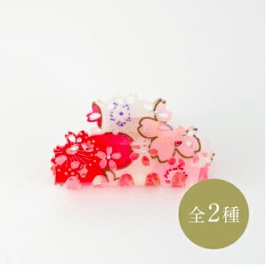 Japanese Craft Accessory Hair Ban Cherry Blossoms
