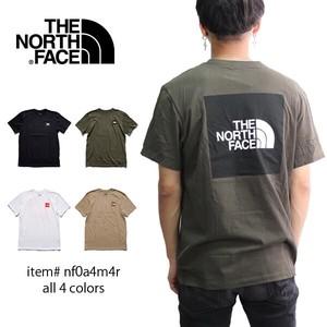 ノースフェイス【THE NORTH FACE】MEN'S SHORT SLEEVE BOX TEE NF0A4M4R 半袖 Tシャツ アウトドア US規格