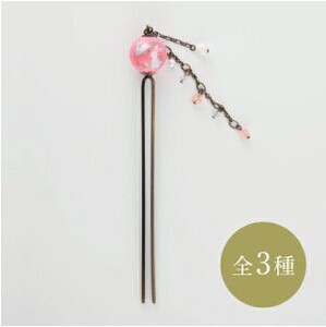 Japanese Craft Accessory Kanzashi Clear Beads Decoration