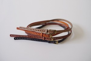 Leather Accessory Ladder Belt