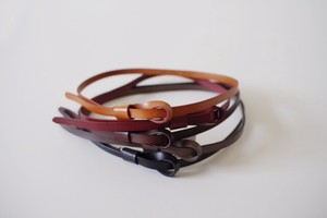 Leather Accessory Loop Belt
