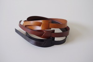 Leather Accessory Wide Belt