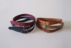 Leather Accessory Belt