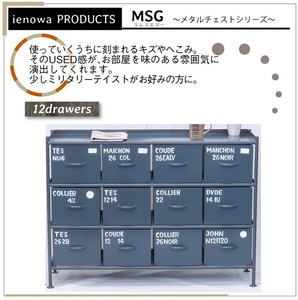 """2020 New Item"" Steel Chest ienowa Horizontal Drawer Chest"
