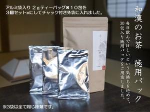 和漢のお茶「雲」30包入り 徳用<For ME>パッケージ